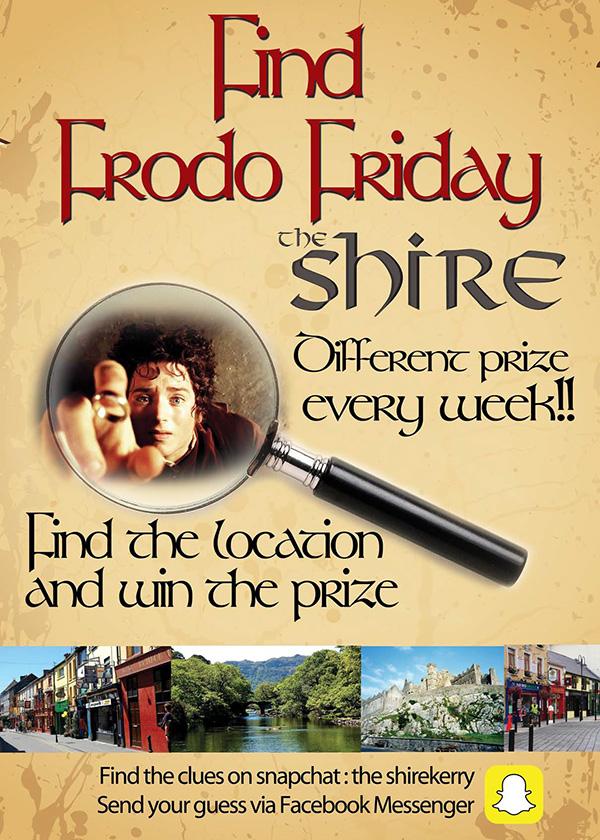 Find Frodo Fridays