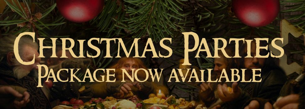 The Shire Christmas Party Package now available