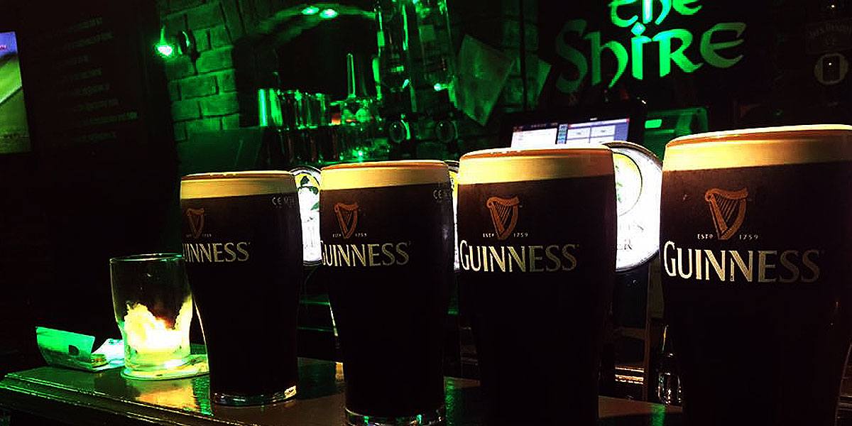 Guinness at The Shire