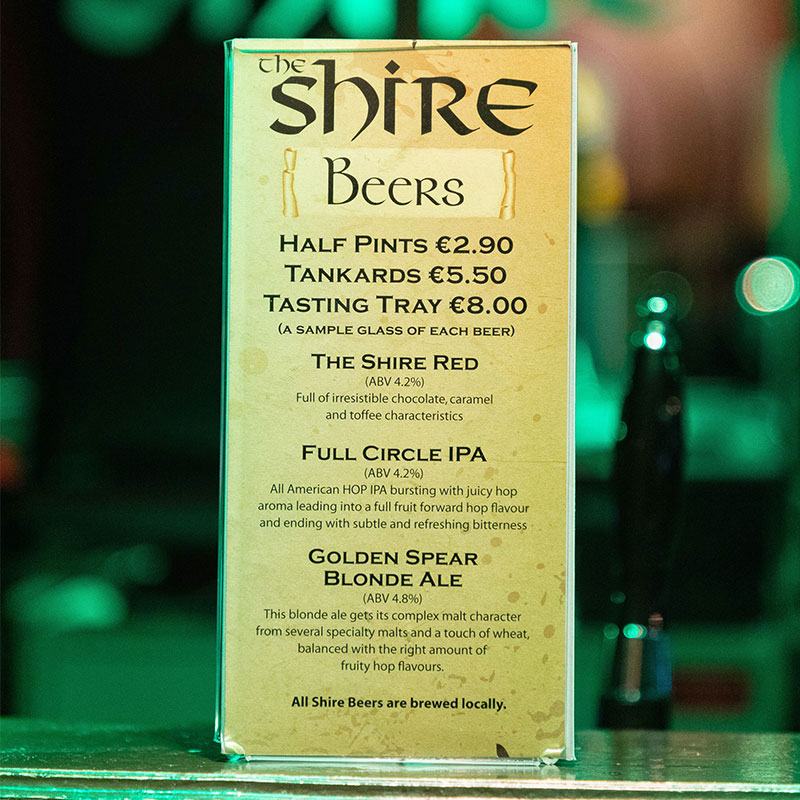 The Shire Beers
