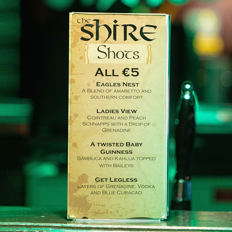 The Shire Shots