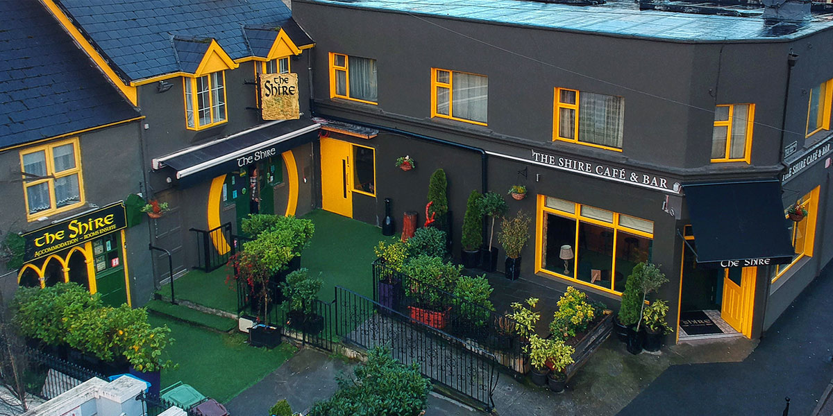 The Shire Bar, Café and Townhouse Accommodation all in the heart of Killarney town